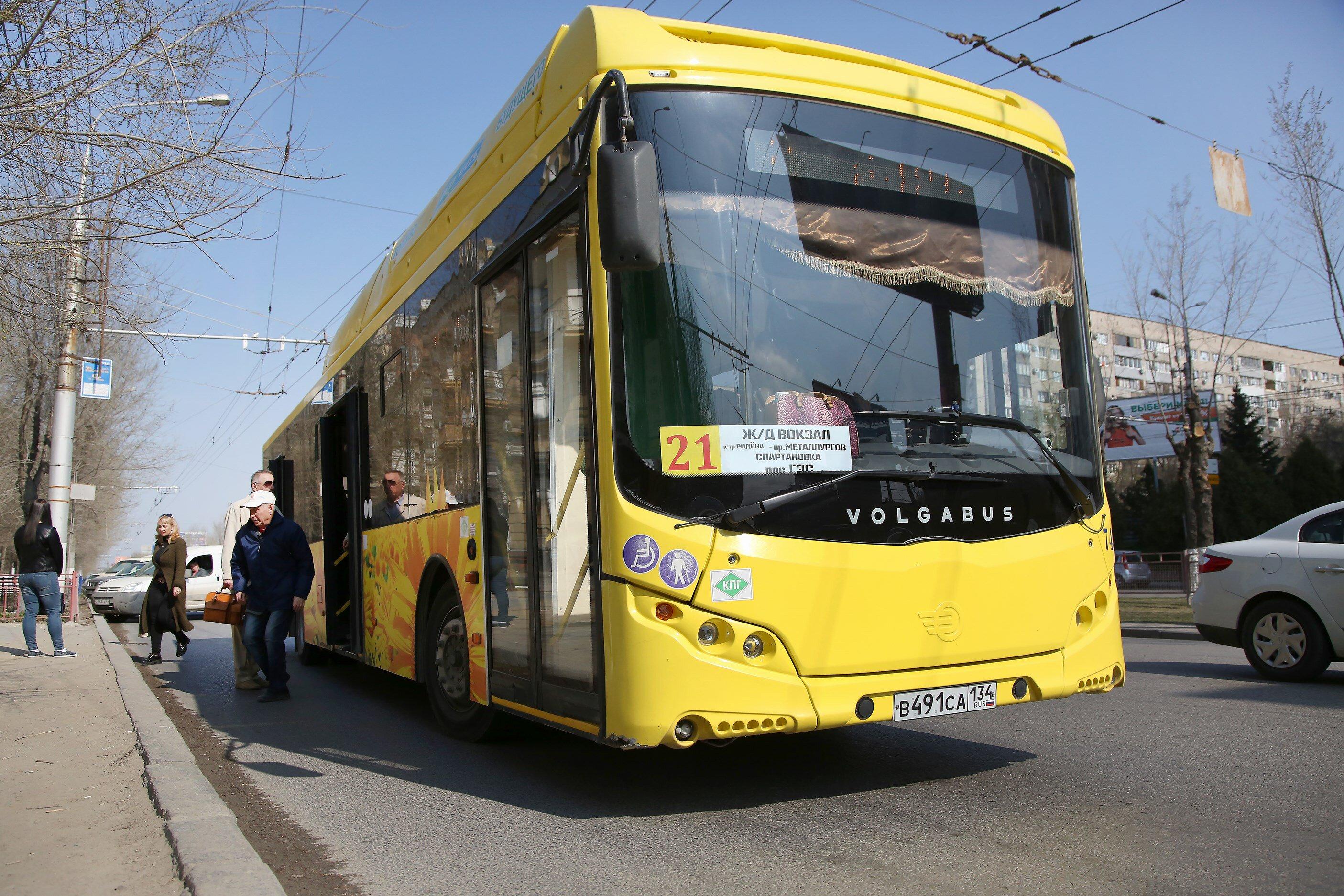В День России волгоградские автобусы пойдут по специальным маршрутам
