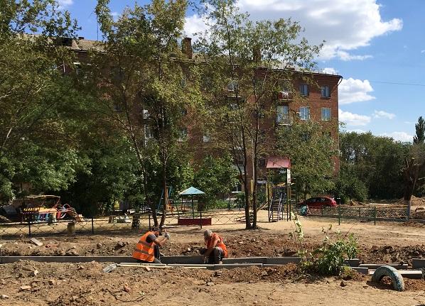 В Краснооктябрьском районе Волгограда благоустроят шесть дворовых территорий