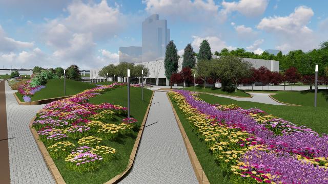 В Волгограде стартовали аукционы на проведение работ по благоустройству дворов и общественных территорий