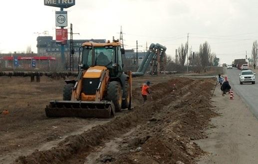В Волгограде начат ремонт улицы Домостроителей