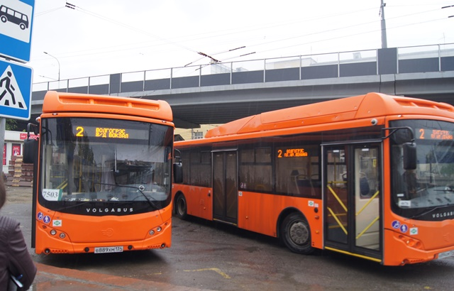 Новые «Волгабасы» вышли на маршруты №№2, 6 и 21 в Волгограде