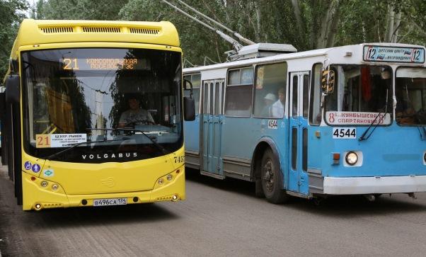 В Волгограде с понедельника в тестовом режиме введена бесплатная пересадка на общественном транспорте