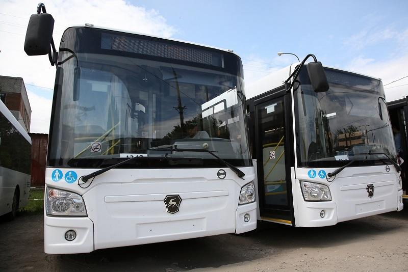 20 новых автобусов вышли на муниципальные маршруты 31к и 98