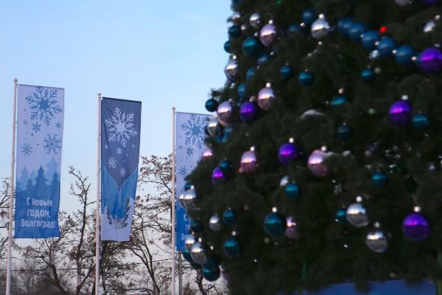 Главная елка Волгограда собрала 350 детей